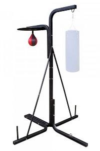 En bra golvställning för boxningssäck, boxboll och päronboll