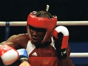 En boxningshjälm skyddar ditt huvud.