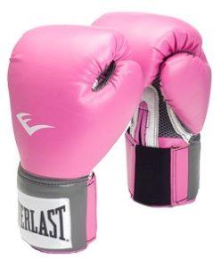 Rosa handskar